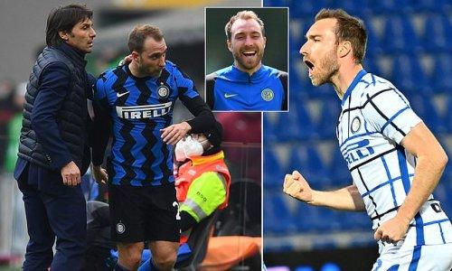 Christian Eriksen 'truly happy' at Inter Milan under Antonio Conte