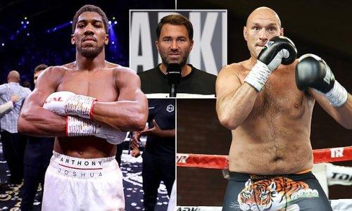 Joshua vs Fury could FINALLY meet in February, reveals Eddie Hearn