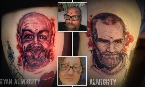 New York couple uses Charles Manson's ashes in tattoo