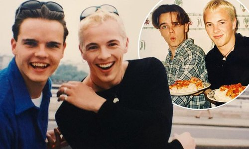 Home and Away's Tristan Bancks shares unseen pics with Dieter Brummer