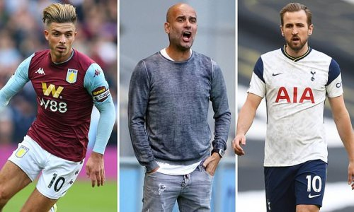 Manchester City 'will end pursuit of Kane if they sign Grealish'