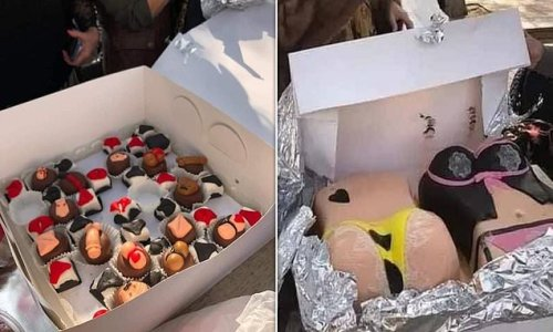 Egyptian woman is arrested for baking 'indecent' cakes