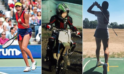 What can't she do: Emma Raducanu is not just a star on a tennis court