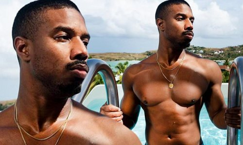 Michael B. Jordan shows off impressively chiseled abs in sizzling snap
