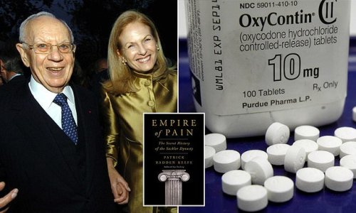 Sackler family tried to erase the 1975 suicide of Purdue Pharma heir