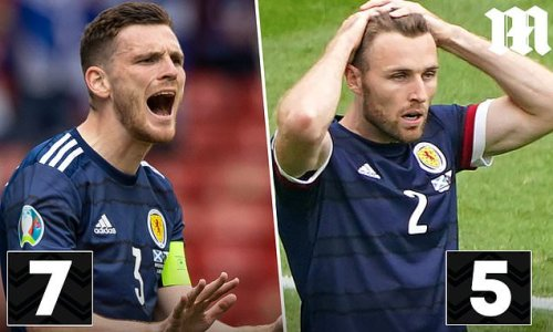 PLAYER RATINGS: Robertson was Scotland's best player by a distance