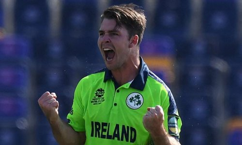 Ireland's Curtis Campher takes four wickets in FOUR BALLS in T20 win