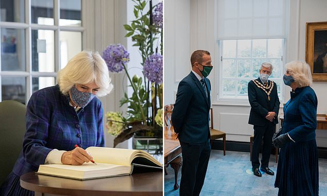 Camilla visits Wiltshire Council to thank staff for work amid Covid-19