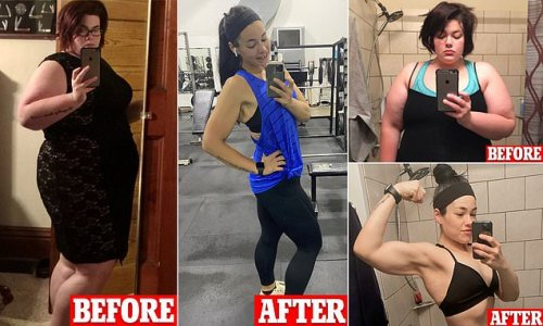 Woman with binge-eating disorder sheds 200lbs