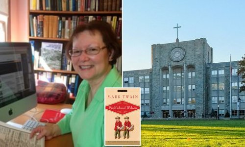 St. John's professor 'fired after she quoted N-word from Twain novel'