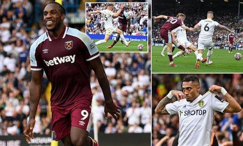 Leeds 1-2 West Ham: Antonio delivers late hammer blow with winner