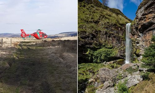 Teenager, 18, dies after falling on mountain walk to see waterfall