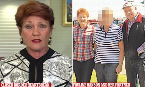 Kept apart by Covid: rare pic of Pauline Hanson and mysterious lover