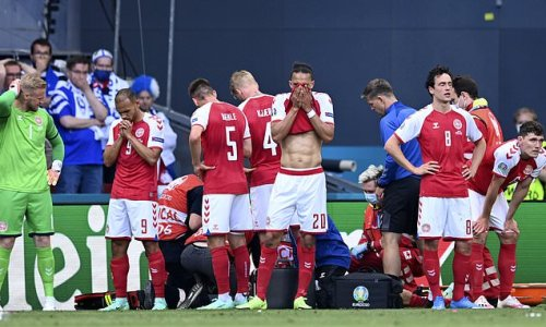 Fans hit out at UEFA after decision to finish Denmark v Finland