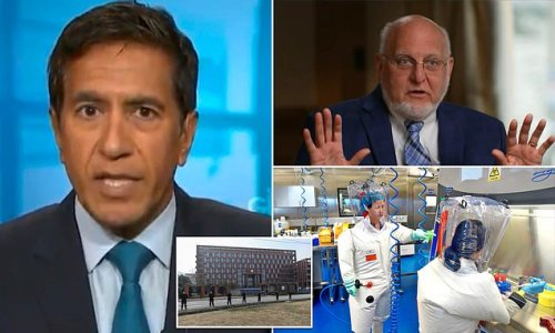 CNN's Sanjay Gupta breaks with his network and BACKS Wuhan lab theory