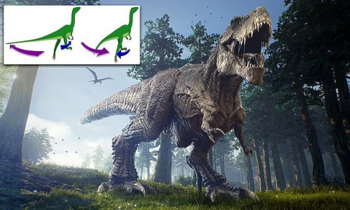 T.Rex wagged its tail from side to side when running, study finds