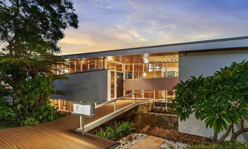 Inside the mansion on stilts designed by Perth's best known architect