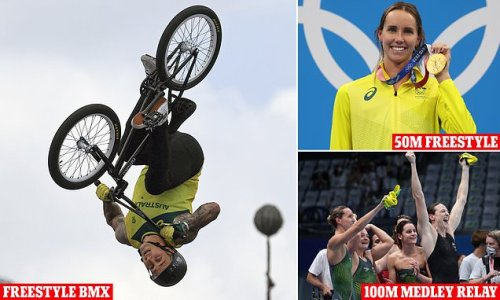 Logan Martin wins freestyle BMX gold after more success in the pool