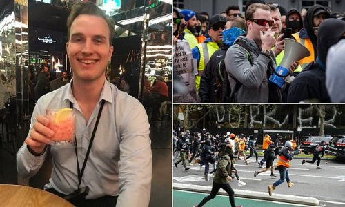 Melbourne anti-Covid vaccine protest organiser is charged