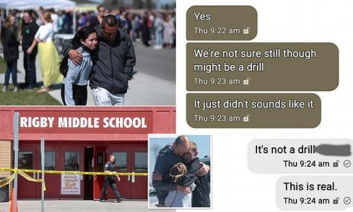Texts reveal students fear after Idaho girl pulled gun and opened fire