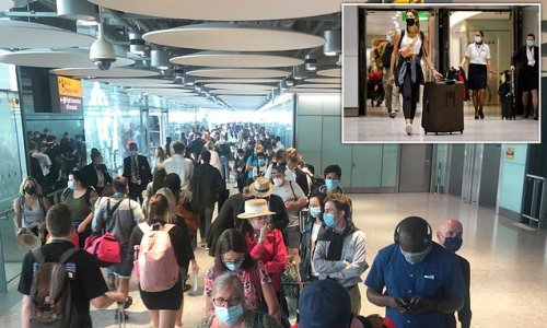 Computer system crashes see Heathrow travellers caught in huge lines