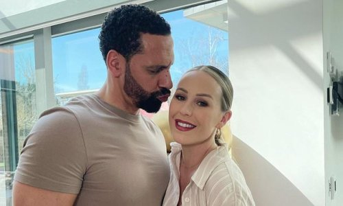 Kate and Rio Ferdinand cosy up for an adorable couple snap