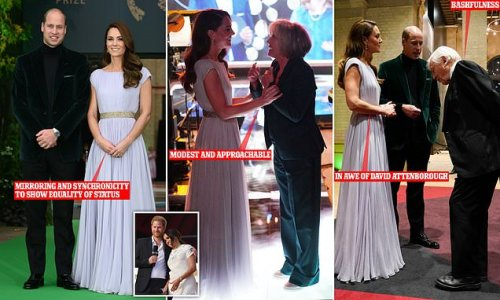 William and Kate's body languages is 'masterclass of regal behaviour'