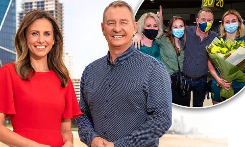 Ariarne Titmus' father Steve is the new co-anchor for 7NEWS Gold Coast