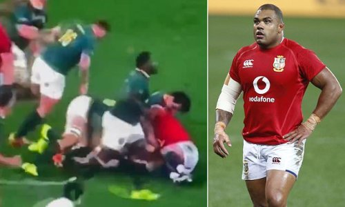 Kyle Sinckler CLEARED of biting South Africa's Franco Mostert
