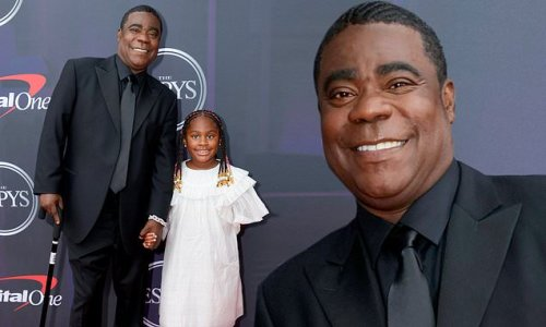 Tracy Morgan holds hands with daughter Maven at the ESPY Awards in NYC