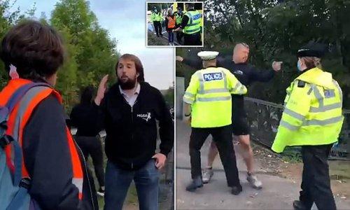 Boris Johnson slams eco-mob blockading M25