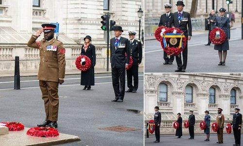 Wreaths laid to mark formation of Royal British Legion 100 years ago