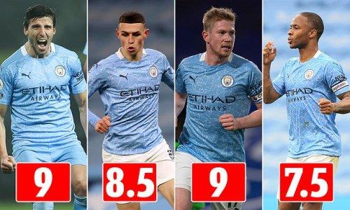 Manchester City's season ratings after Premier League title triumph