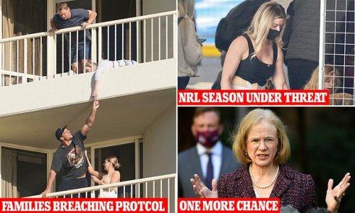 NRL season under threat as QLD threaten to send players home