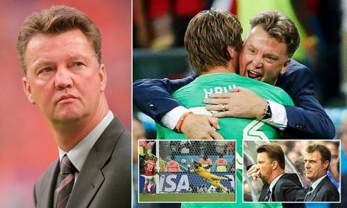 Tale of Louis van Gaal's two previous stints in charge of Holland