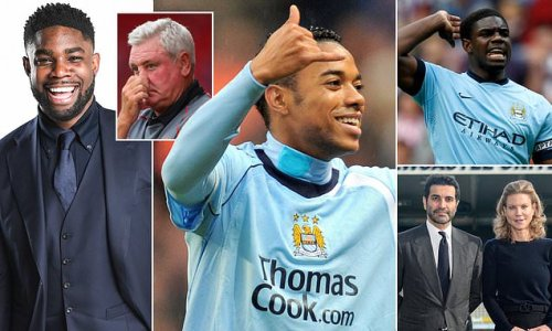 MICAH RICHARDS: It was not all roses at City when the cash poured in