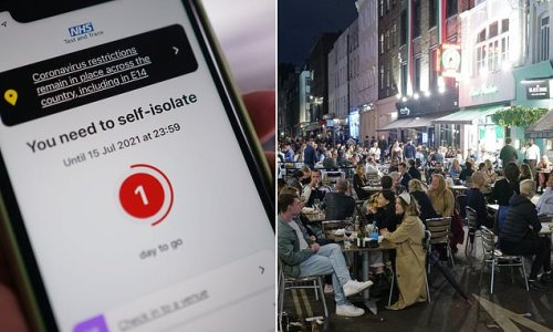 Half of Britons avoiding social contact over risk of getting 'pinged'
