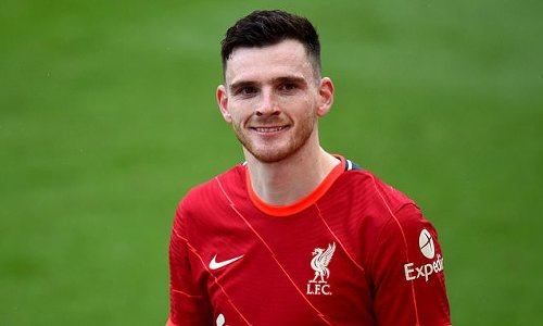 Andy Robertson reveals he would 'love to retire at Liverpool'