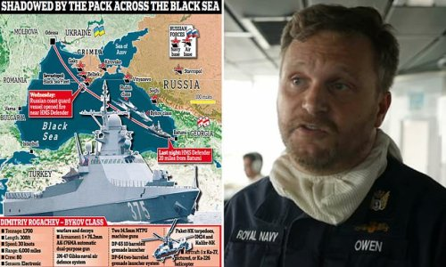 'I will do anything to protect my crew,' HMS Defender captain says