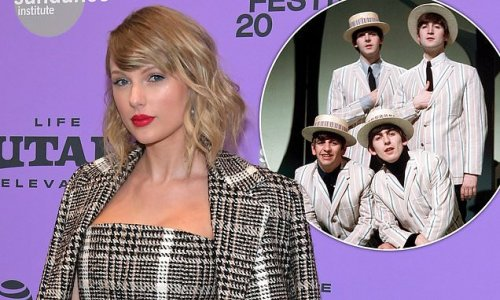 Taylor Swift breaks The Beatles' album chart record in the UK