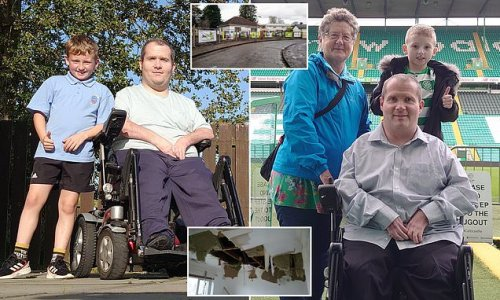 Disabled dad adapting home to live with son, 8, tries to raise £20K