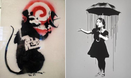 Banksy stripped of trademarks for 'Radar Rat' and 'Girl with Umbrella'