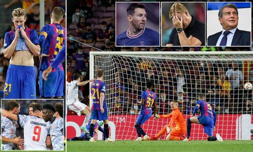 PETE JENSON: Barcelona are a MESS and were woeful in Bayern defeat