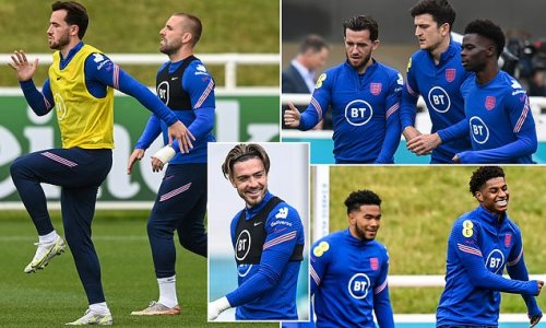 Maguire, Henderson and Grealish return to England training