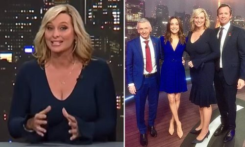 Johanna Griggs shows off figure in form-fitting dress during Olympics