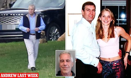 Prince Andrew FINALLY accepts legal papers served by Virginia Roberts