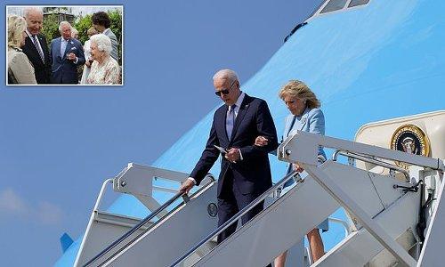Joe Biden heads to Windsor for afternoon tea: Queen welcomes President