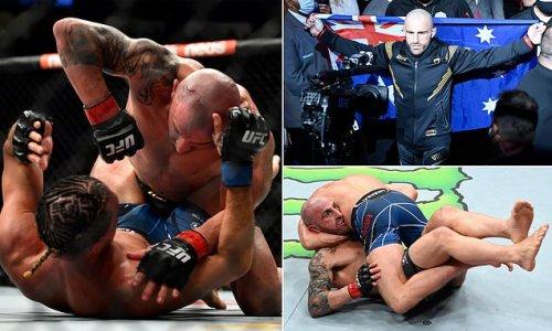 Aussie UFC star Alex Volkanovski beats Brian Ortega at UFC266