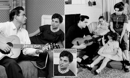 Johnny Cash's first wife was black and her great-gran a freed slave