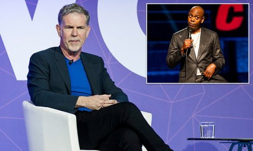 'We are on the right side of history': Netflix CEO defends Chappelle